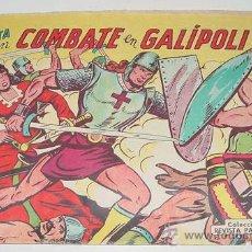 Tebeos: EL PATRIOTA EN COMBATE EN GALIPOLI - Nº 4 - ED. VALENCIANA - AÑO 1960.. Lote 22767212