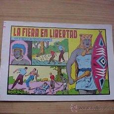 Tebeos: ROBERTO ALCAZAR Y PEDRIN. Nº 157. LA FIERA EN LIBERTAD. EDITVAL. 1984. *. Lote 19148477