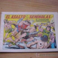 Tebeos: EL ESPADACHIN ENMASCARADO. Nº 33. EL ASALTO DE LOS SEMINOLAS . EDITORA VALENCIANA. 1981. *. Lote 19149362