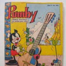 Tebeos: PUMBY Nº 343. SANCHIS J. 1964. VALSA. Lote 118482450