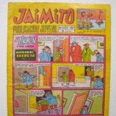 Tebeos: JAIMITO. PUBLICACIÓN JUVENIL. Nº1068. 1970. Lote 19272148