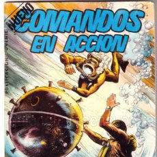 Tebeos: COMANDOS EN ACCIÓN. LOS COMANDOS DEL MAR. EDITORIAL VALENCIANA 1982.. Lote 19221045