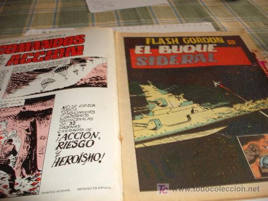 Tebeos: comic ciencia ficcion valenciana: flash gordon 28 el buque sideral 1980 jmj-i - Foto 3 - 19633726