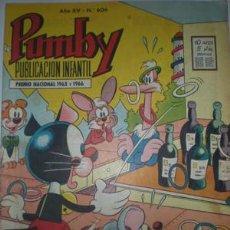 Tebeos: PUMBY Nº 606. Lote 25669982