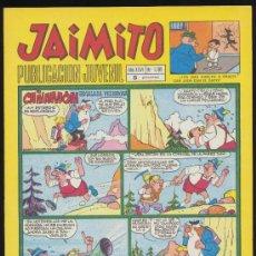 Tebeos: JAIMITO Nº 1105. VALENCIANA 1945. ¡IMPECABLE!. Lote 19928397