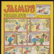 Tebeos: JAIMITO Nº 1050. VALENCIANA 1945. CON UNA AVENTURA DE AMBRÓS. ¡IMPECABLE!. Lote 19929757