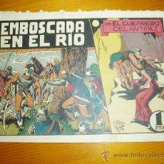 Tebeos: EL GUERRERO DEL ANTIFAZ Nº 44. 1 PTA. ORIGINAL. VALENCIANA.. Lote 20271287