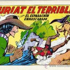 Tebeos: EL ESPADACHIN ENMASCARADO - 5 TEBEOS # 7-9-10-20-22 - 1981. Lote 20431882