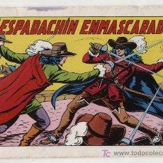 Tebeos: EL ESPADACHÍN ENMASCARADO 2ª EDICIÓN.Nº 1. VALENCIANA 1981.. Lote 20601219