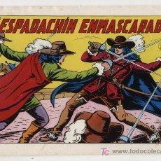Tebeos: EL ESPADACHÍN ENMASCARADO 2ª EDICIÓN. Nº 1. VALENCIANA 1981.. Lote 20601241