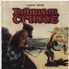Tebeos: CLÁSICOS ILUSTRADOS Nº 3. ROBINSON CRUSOE. VALENCIANA.. Lote 20654067
