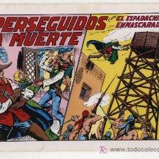 Tebeos: EL ESPADACHÍN ENMASCARADO Nº 30. VALENCIANA 1981. TOMO CON TRES NÚMEROS DE LA COLECCIÓN.. Lote 20670013
