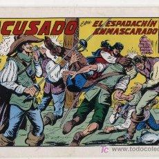 Tebeos: EL ESPADACHÍN ENMASCARADO Nº 42. VALENCIANA 1981. TOMO CON TRES NÚMEROS DE LA COLECCIÓN.. Lote 20670147