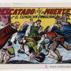 Tebeos: EL ESPADACHÍN ENMASCARADO Nº 51. VALENCIANA 1981. TOMO CON TRES NÚMEROS DE LA COLECCIÓN.. Lote 20670175