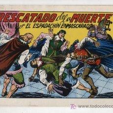 Tebeos: EL ESPADACHÍN ENMASCARADO Nº 51. VALENCIANA 1981. TOMO CON TRES NÚMEROS DE LA COLECCIÓN.. Lote 20670199