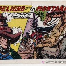 Tebeos: EL ESPADACHÍN ENMASCARADO Nº 60. VALENCIANA 1981. TOMO CON TRES NÚMEROS DE LA COLECCIÓN.. Lote 20670240