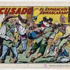 Tebeos: EL ESPADACHÍN ENMASCARADO Nº 42. VALENCIANA 1981. TOMO CON TRES NÚMEROS DE LA COLECCIÓN.. Lote 20670255
