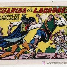 Tebeos: EL ESPADACHÍN ENMASCARADO Nº 47. VALENCIANA 1981. TOMO CON TRES NÚMEROS DE LA COLECCIÓN.. Lote 20670300