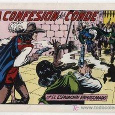 Tebeos: EL ESPADACHÍN ENMASCARADO Nº 69. VALENCIANA 1981. TOMO CON TRES NÚMEROS DE LA COLECCIÓN.. Lote 20670395