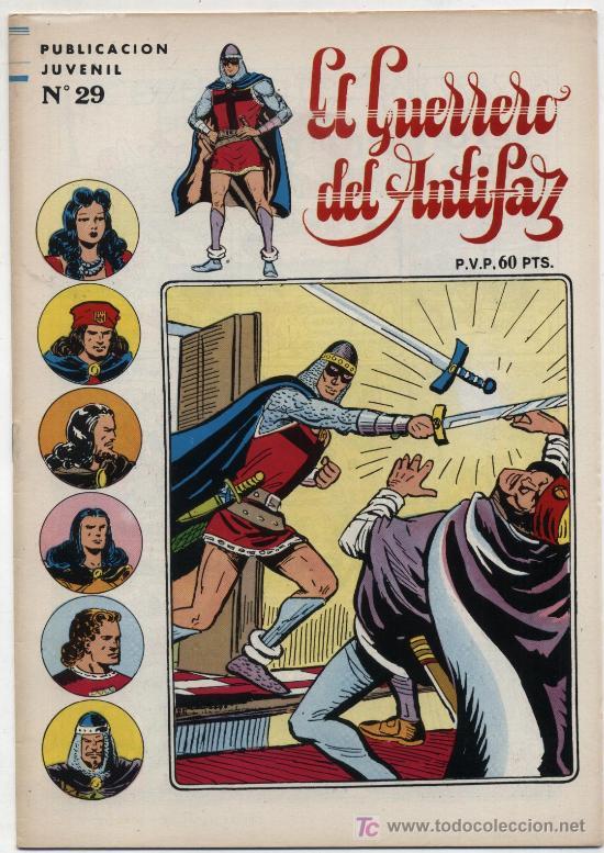 EL GUERRERO DEL ANTIFAZ.SERIE INÉDITA Nº 29. (Tebeos y Comics - Valenciana - Guerrero del Antifaz)