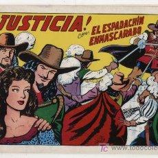 Tebeos: EL ESPADACHÍN EMASCARADO. Nº 2. VALENCIANA 1981. TOMO CON TRES NÚMEROS DE LA COLECCIÓN. Lote 20689281