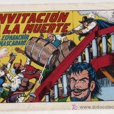 Tebeos: EL ESPADACHÍN EMASCARADO. Nº 3. VALENCIANA 1981. TOMO CON TRES NÚMEROS DE LA COLECCIÓN. Lote 20689319