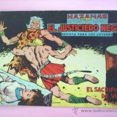 Tebeos: EL JUSTICIERO NEGRO N.16 EDITORIAL VALENCIANA. Lote 26558907
