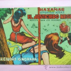 Tebeos: EL JUSTICIERO NEGRO N.8 EDITORIAL VALENCIANA. Lote 20759358
