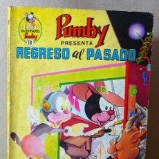 Tebeos: COMIC, PUMBY, Nº 18, REGRESO AL PASADO, 1970, EDITORA VALENCIANA. Lote 21499575