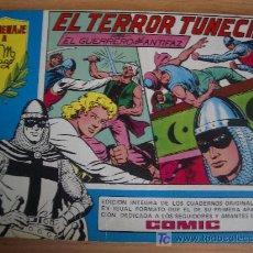 Tebeos: EL GUERRERO DEL ANTIFAZ, EL TERROR TUNECINO. HOMENAJE A GAGO, Nº 18. ED. VALENCIANA 1981. Lote 23337661