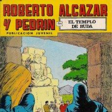 Tebeos: ROBERTO ALCAZAR Y PEDRIN - Nº 211 - 2ª EPOCA - EL TEMPLO DE BUDA. Lote 26458198