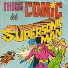 Tebeos: SUPERSONIC MAN Nº 1 - COLOSOS DEL COMIC - VALENCIANA - 1979. Lote 27594578