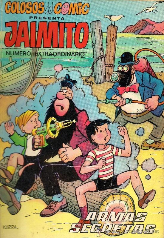 JAIMITO - Nº EXTRAORDINARIO - COLOSOS DEL COMIC - EDIT. VALENCIANA 1975 - 50 PTS (Tebeos y Comics - Valenciana - Colosos del Comic)