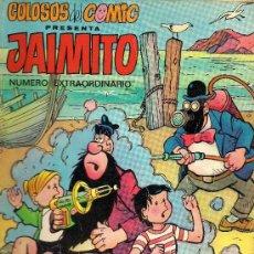 Tebeos: JAIMITO - Nº EXTRAORDINARIO - COLOSOS DEL COMIC - EDIT. VALENCIANA 1975 - 50 PTS. Lote 27594583