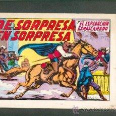 Tebeos: EL ESPADACHÍN ENMASCARADO Nº 12, AÑO 1981,EDITORIAL VALENCIANA. Lote 21126868