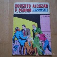"""Tebeos: ROBERTO ALCAZAR Y PEDRIN """"EL MISTERIO DE LOS AUTOMATAS"""". Lote 24922523"""