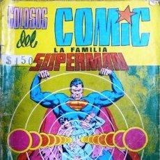 Tebeos: COLOSOS DEL COMIC # 1 LA FAMILIA SUPERMAN VALENCIANA 1979 32 PAG SHAZAM BUEN ESTADO. Lote 21131470