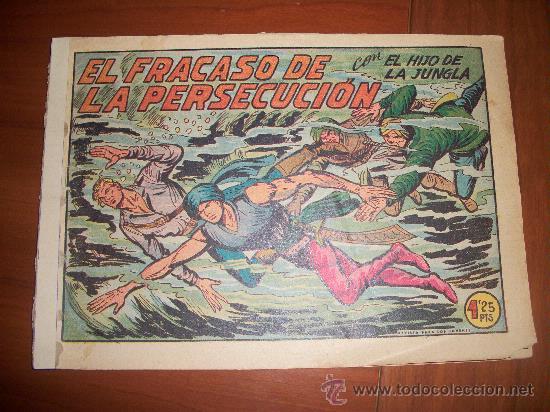 EL HIJO DE LA JUNGLA Nº 20 ORIGINAL EDITORIAL VALENCIANA (Tebeos y Comics - Valenciana - Hijo de la Jungla)