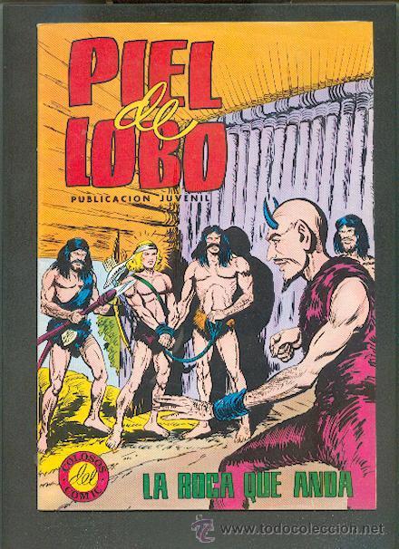 COLOSOS DEL COMIC,PIEL DE LOBO Nº 14,VALENCIANA COLOR (Tebeos y Comics - Valenciana - Colosos del Comic)