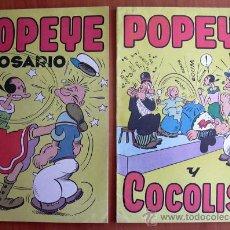 Tebeos: POPEYE - EDITORIAL VALENCIANA 1948 - COMPLETA, 2 EJEMPLARES. Lote 21378135