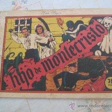 Tebeos: EL HIJO DE MONTECRISTO SELECCION AVENTURERA. Lote 21816511