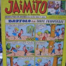 Tebeos: JAIMITO Nº 806 EXTRAORDINARIO PRIMAVERA 1965 EDICIONES VALENCIA SA COMIC TEBEO. Lote 27044421