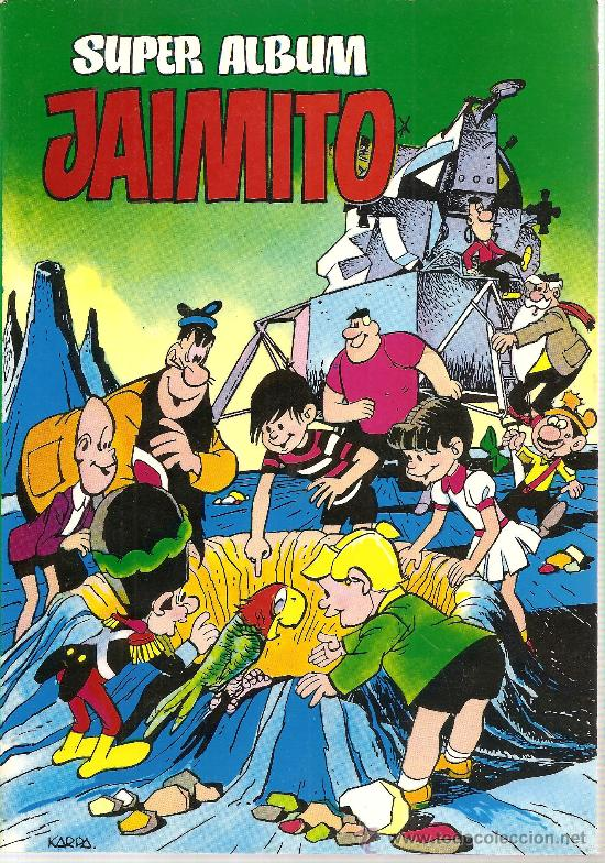 SUPER ALBUN JAIMITO Nº 1 (Tebeos y Comics - Valenciana - Jaimito)