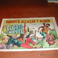 Tebeos: ROBERTO ALCAZAR Y PEDRÍN. ED. VALENCIANA. ORIGINAL Nº 864 FLORES PARA UN HIPPIE. . Lote 23494656
