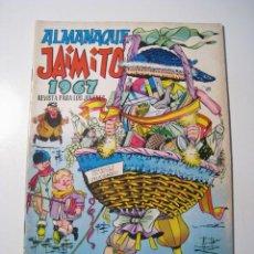 Tebeos: JAIMITO - ALMANAQUE 1967. Lote 38216903