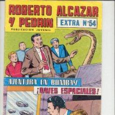 BDs: ROBERTO ALCAZAR Y PEDRIN EXTRA 54. Lote 22187219
