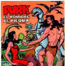 Tebeos: PURK EL HOBRE DE PIEDRA, VALENCIANA, LOTE DE 71 NºS, VER IMAGENES Y LISTADO. Lote 22195763