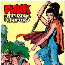 Tebeos: PURK EL HOBRE DE PIEDRA, LOTE DE 27 NºS, VER IMAGENES Y LISTADO. Lote 22195859