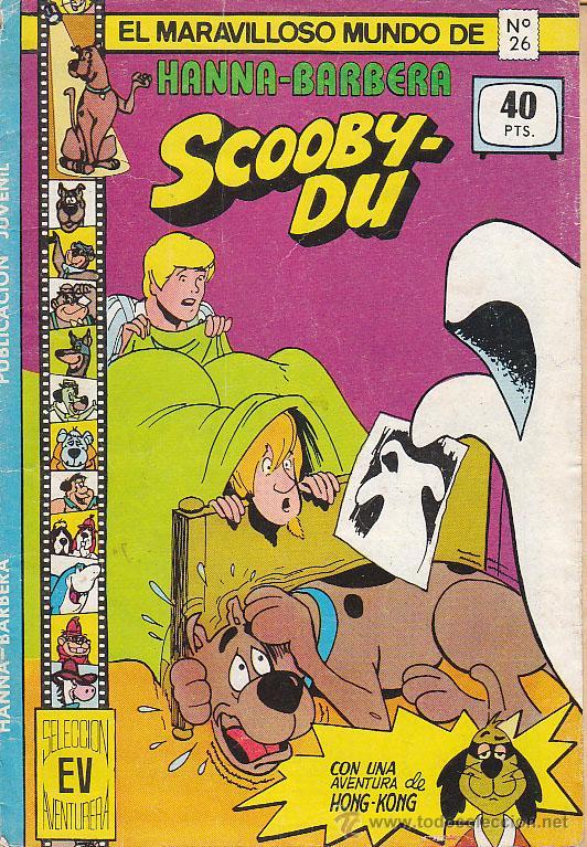 SCOOBY-DU Nº 26. HANNA Y BARBERA. 32 PÁGINAS. COLOR. 1979 (Tebeos y Comics - Valenciana - Otros)