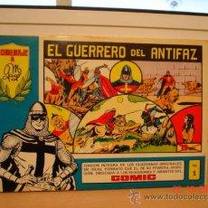 Tebeos: EL GUERRERO DEL ANTIFAZ - 4 EJEMPLARES - . Lote 25189119